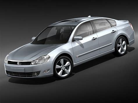 renault safrane 2010 renault safrane 2010 sedan 3d model