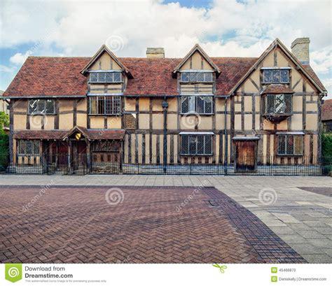 le lieu de naissance de william shakespeare photo stock image 45466870