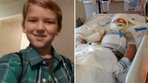10yo boy with special needs in critical condition after