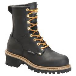 s boots uk waterproof carolina 39 s waterproof logger boots ca420 ca1420