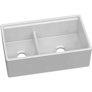 specialty kitchen sinks eswuf3320wh fireclay apron front specialty sink kitchen 2425