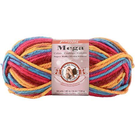 walmart yarn colors mega colors yarn walmart