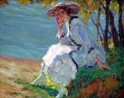 Edward Alfred Cucuel Impressionist Painter Tutt Art