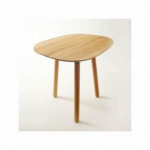 Table Basse 3 Pieds : table basse 3 pieds en bois massif par reine m re ~ Teatrodelosmanantiales.com Idées de Décoration