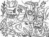 Coloring Hawaii Pages Tiki Luau Hawaiian Drawing Mask Island Fun Tony Party Printable Sheets Flower Masks Mythical Template Getdrawings Super sketch template