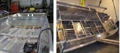 building  aluminum houseboat plans flat bottom