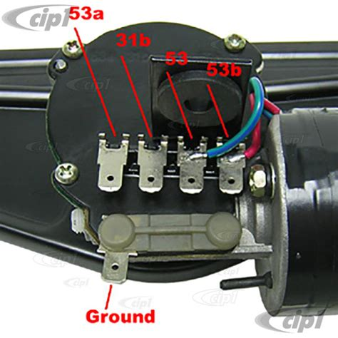 vwc    complete  wiper assembly beetle