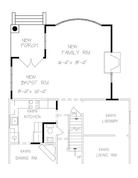 room home addition plans family room master suite