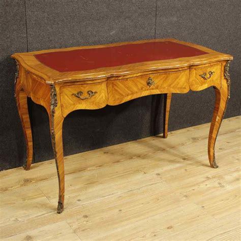 scrivania francese scrittoio francese in legno di bois de stile luigi xv
