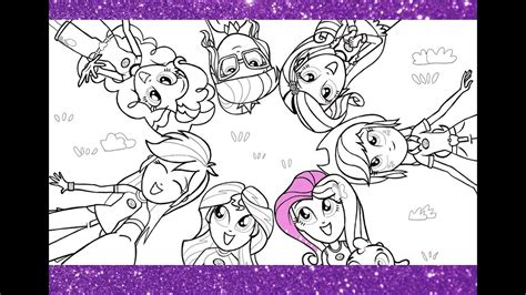 pony coloring pages  kids mlp coloring book