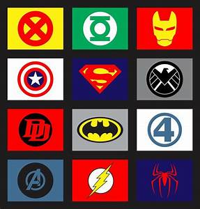 Marvellous Superhero Logos And Names 41 In Make A Logo ...