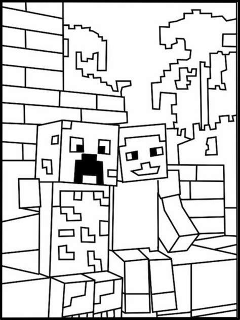 disegni da colorare minecraft scp disegni da colorare per bambini da stare minecraft 9