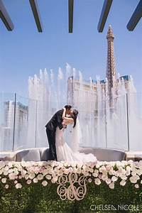 ethel jon stylish wedding at hyde bellagio fslv With las vegas wedding bellagio