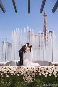 ethel jon stylish wedding at hyde bellagio fslv With bellagio las vegas wedding