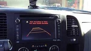 2012  2013 Gm Hdd Navigation Radio Backup Camera