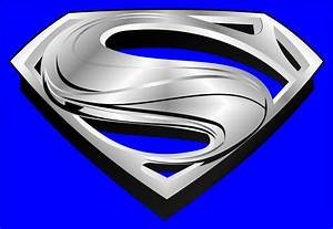 SUPERMAN NEW CHROME LOGO MAN OF STEEL by javiercr69 on ...