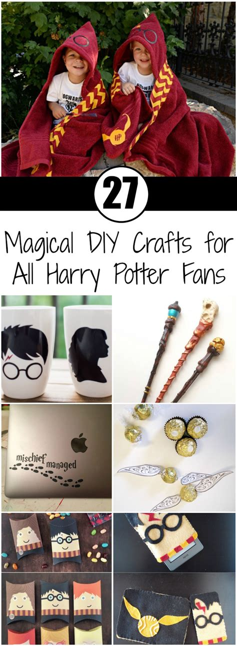 magical diy crafts   harry potter fans ritely
