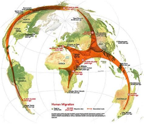 gallimaufry  short history  human migration  ref