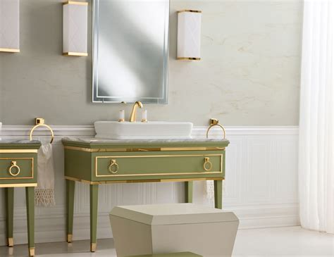 deco bathroom vanity lutetia l16 luxury deco italian bathroom vanity mint