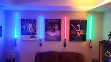 wall mounted lightsaber    sound lightsabers