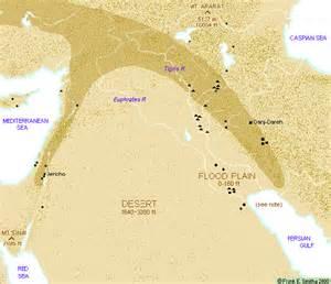 Middle East Map Fertile Crescent