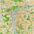 Maps of Prague / Czech rep.