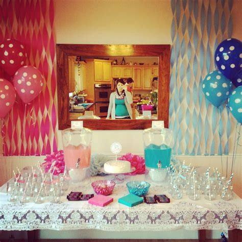 gender reveal decor 1000 ideas about gender reveal decorations on