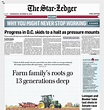 Today's Star-Ledger Page 1 with top stories and links - nj.com