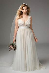What are the best solutions for plus size brides tips on for Plus sized wedding dresses