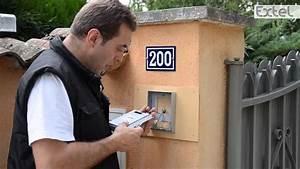 Gache Electrique Portillon Sans Fil : quotidom installation pose visiophone extel wevp 256 youtube ~ Dode.kayakingforconservation.com Idées de Décoration