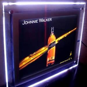 Cadre Lumineux Message : cadre lumineux led en plexi avec lumi re douce des leds ~ Teatrodelosmanantiales.com Idées de Décoration