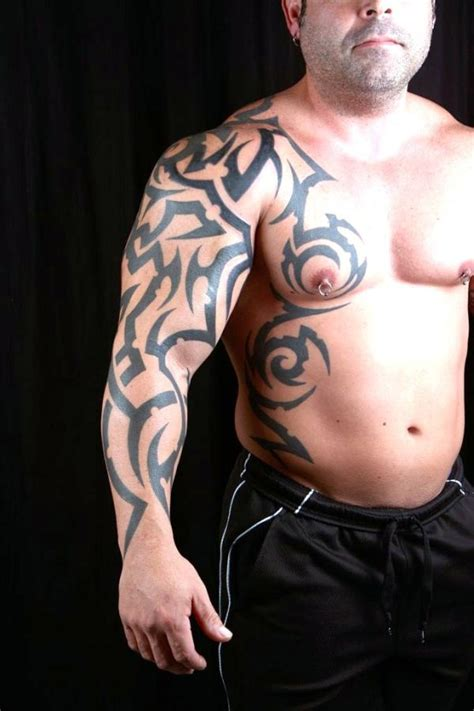 beautiful tribal sleeve tattoos  tribal