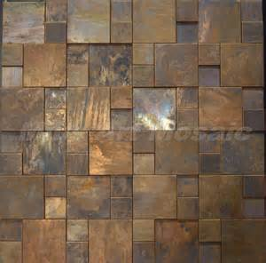 copper kitchen backsplash tiles mius mosaic 3d copper tile in bronze brushed for kitchen backsplash wall tile e6kmz21 in