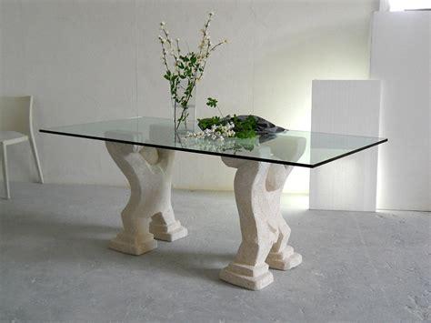 tavoli di cristallo sala da pranzo omini tavolo moderno da pranzo in cristallo stonebreakers
