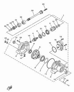 2003 Yamaha Kodiak 450 Parts Diagram