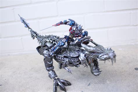 Mini Optimus Prime Aoe + Grimlock Custom By Npiece On