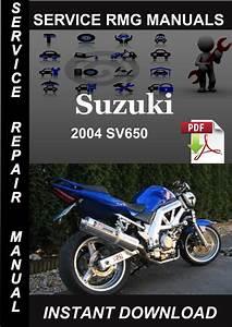 2004 Suzuki Sv650 Service Repair Manual Download