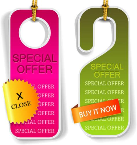 hangtag template download classic hangtag template vector graphics free vector in