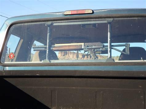 gun racks for trucks potd franken gun in truck gun rack the
