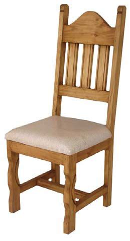 rustic dining chair rustic chair with cushions wood chair