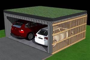 Garage Pour Voiture : garage pour deux voitures garage pour deux voitures ~ Voncanada.com Idées de Décoration