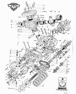26 Best Motorcycle Engine Blueprints  Schematic Drawings