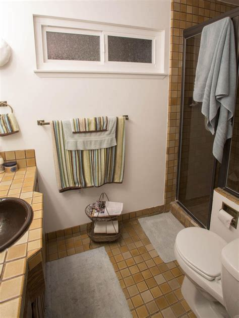 bathroom makeovers ideas 20 small bathroom before and afters hgtv