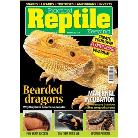 practical reptile keeping november