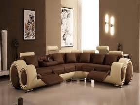 painting ideas for living rooms modern brown color scheme stroovi