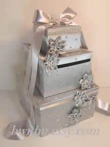 make your own wedding card box wedding card box silver gift card box money box