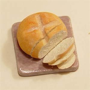 1/12 scale Minature Sliced Soda Bread on Granite Cutting
