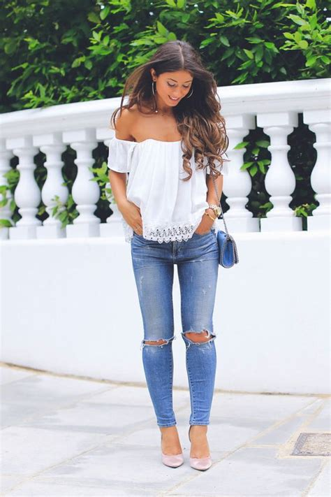 What to Wear with an Off Shoulder Top u2013 Glam Radar