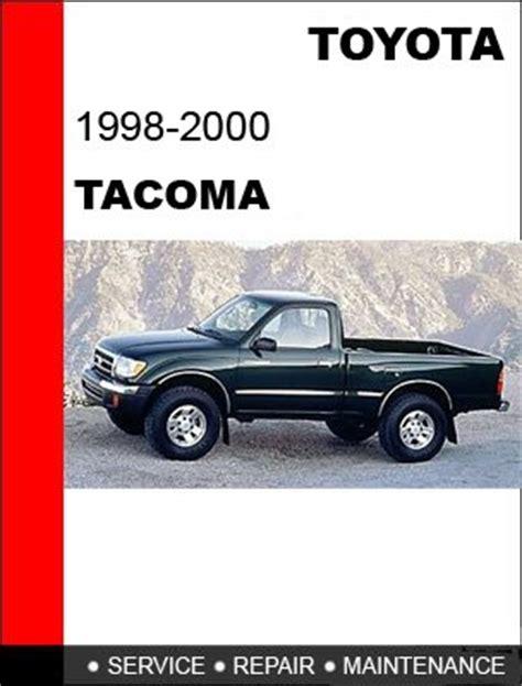 motor repair manual 1998 toyota tacoma auto manual 1998 1999 2000 toyota tacoma service repair manual cd