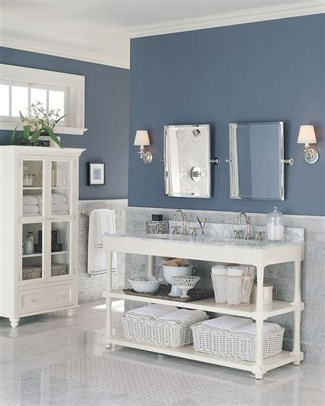 Blue Bathroom Paint Colors by Pin By Kristine Michels On Bathroom S In 2019 Blue